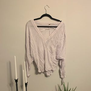 Free People Boho Slouchy Blouse